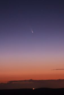 Comet C/2011 L4 PANSTARRS as seen from<br />