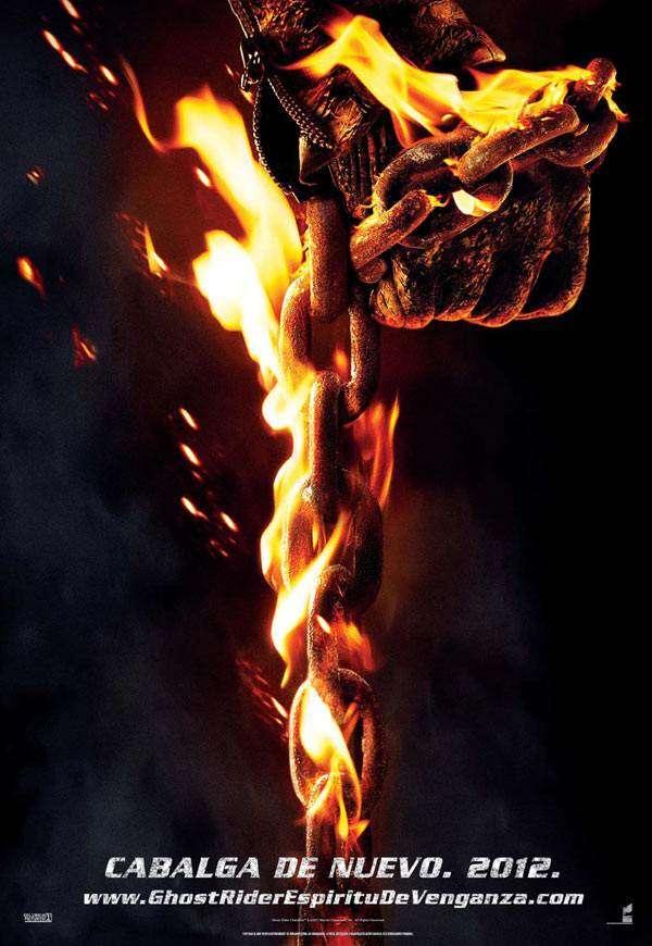 Noticias Curiosas - Cartel de la película Ghost Rider 2 Espíritu de venganza