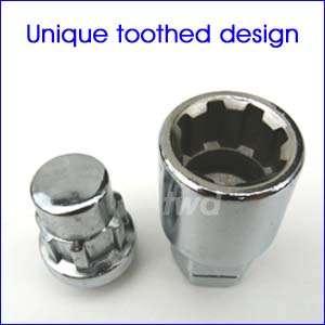 Unique toothed design