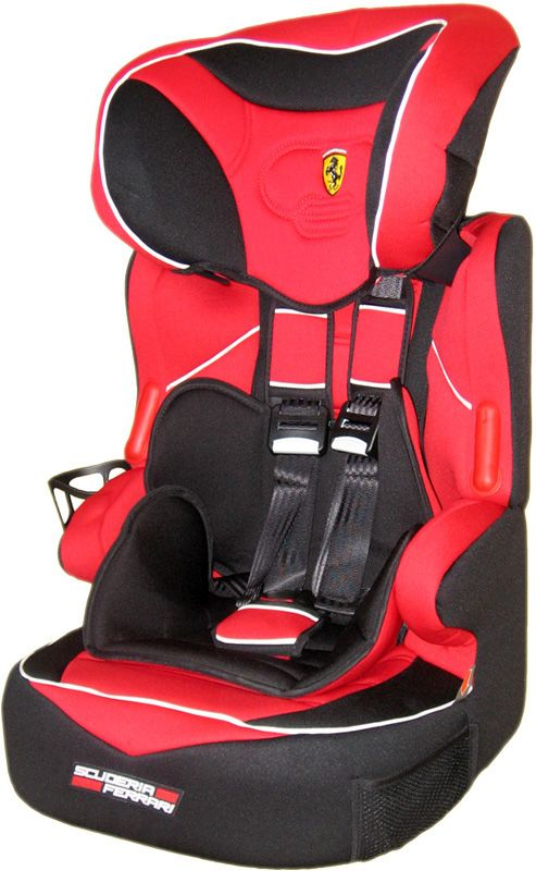 ferrari kindersitz kinder autositz baby sitz gruppe 1 2 3 9 36 kg gratis ebay. Black Bedroom Furniture Sets. Home Design Ideas