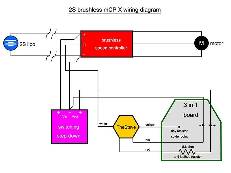 servo power battery wiring diagram