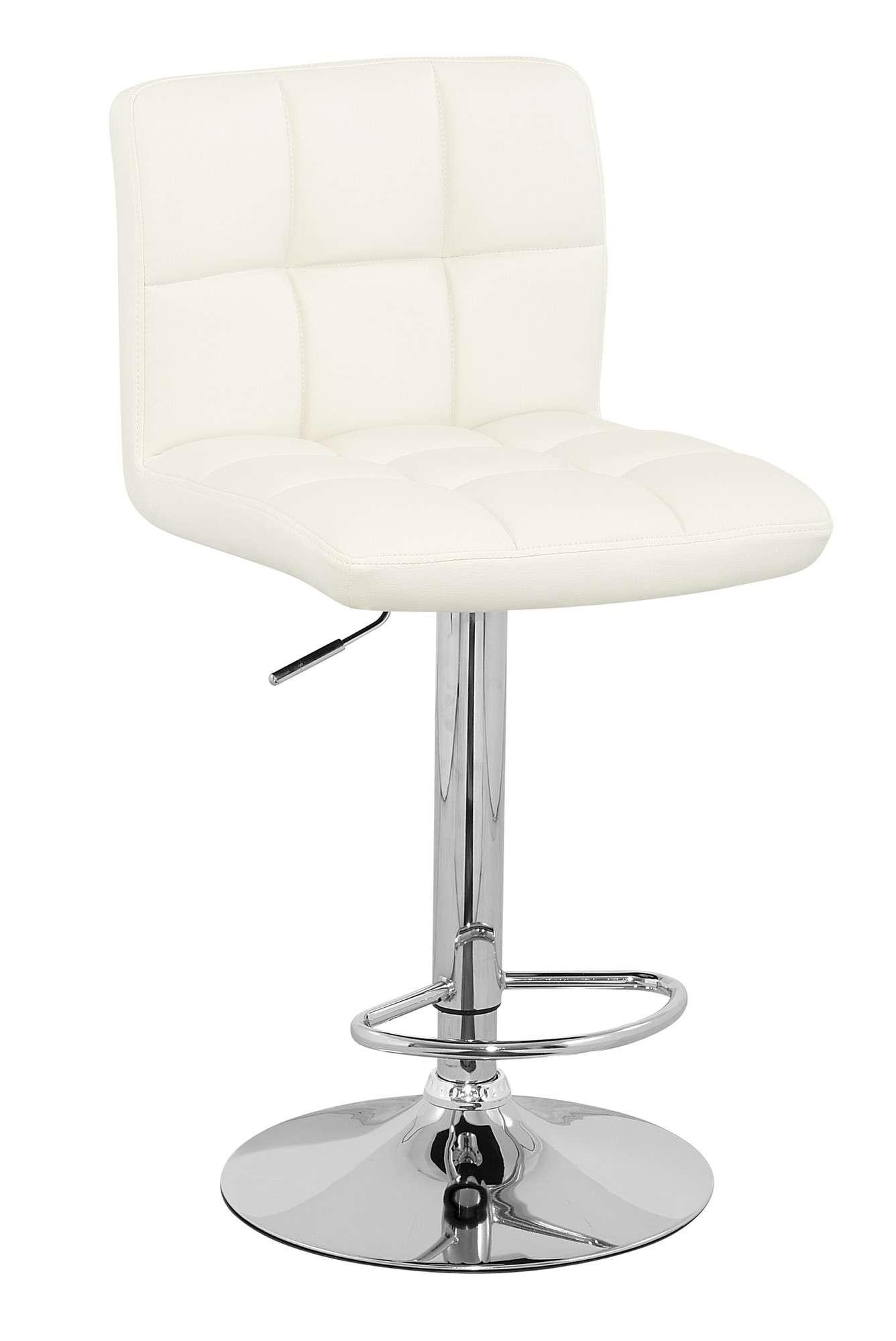 Set 2 sillas banco para cocina barra ajustable cromado mn4 for Sillas barra cocina