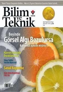 Bilim ve Teknik Dergisi - Aralık 2013