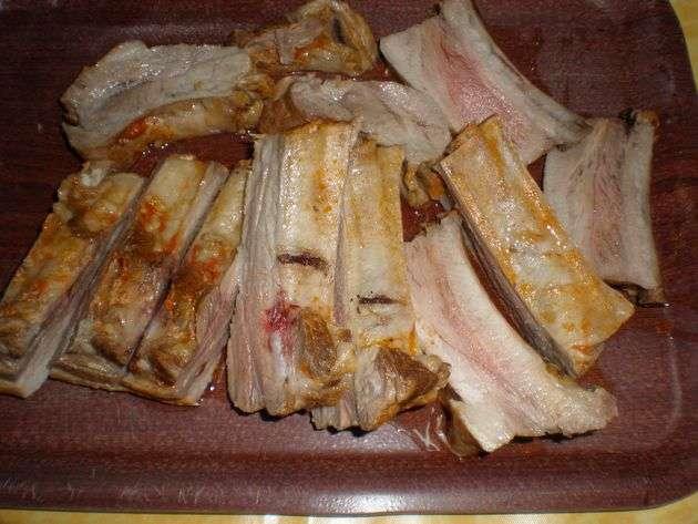 costillarpartido - Costillas de cerdo, hervidas con tomate