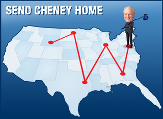 Send Cheney Home!