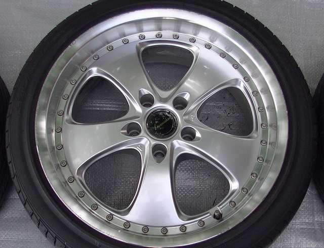 BRIDGESTONE 18 8.5J 7.5J Alloy Wheels R33 RX7 RX8 S14