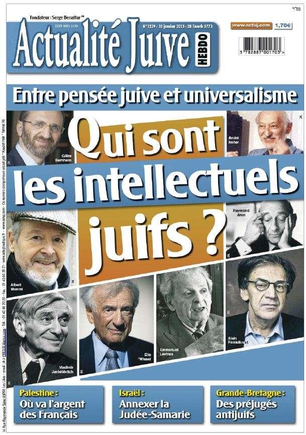 Actualité Juive N°1239 du 10 Janvier 2013