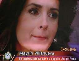 Mayrín Villanueva en Hoy