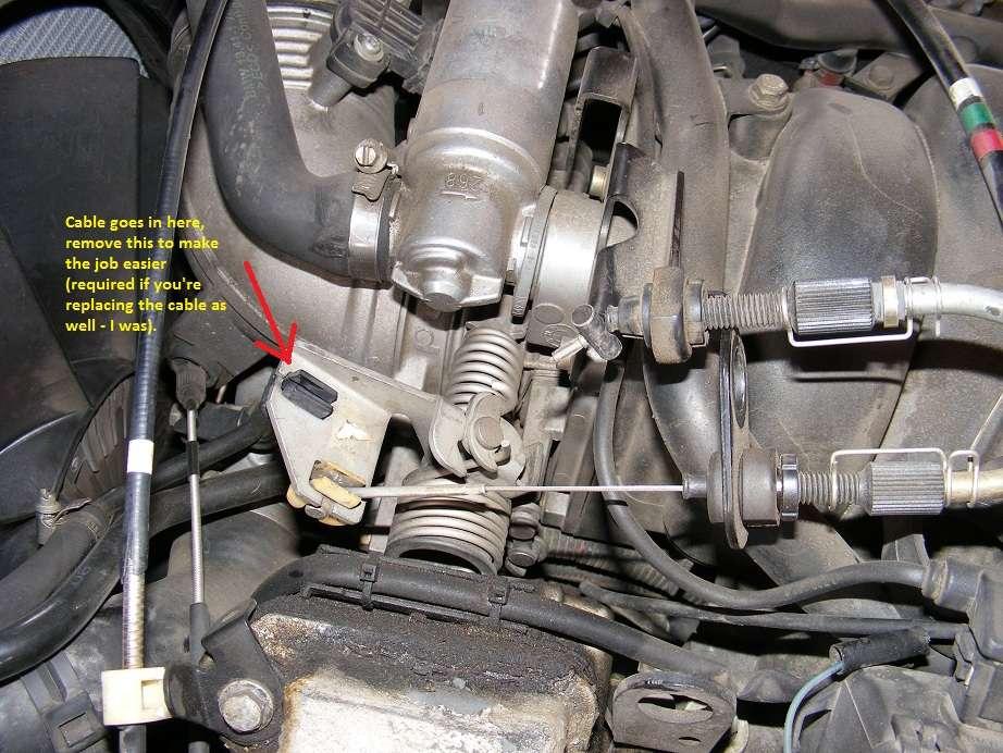 Sloppy/stiff throttle pedal