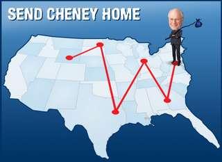 Send Cheney Home!