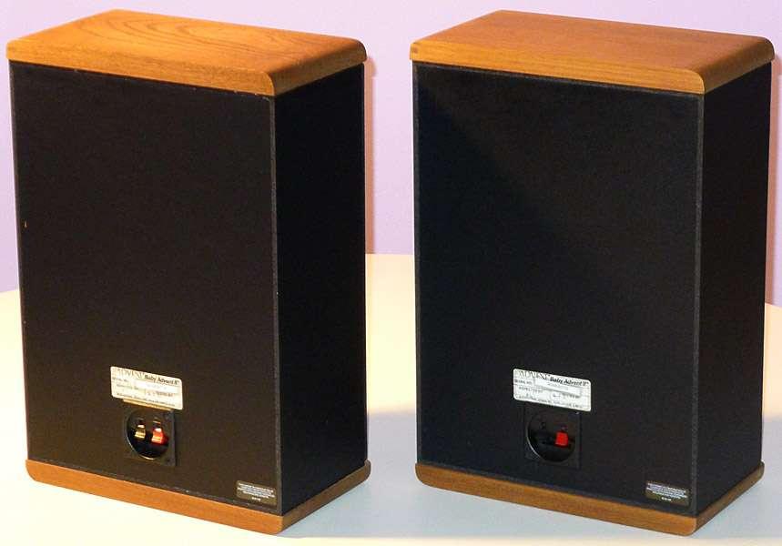 baby advent ii jensen vintage speakers bookshelf monitors. Black Bedroom Furniture Sets. Home Design Ideas